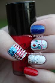 fourth of july nail art wickednails