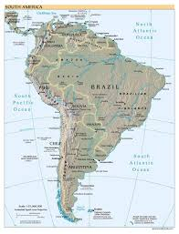 map of cities in south america maps of south america and south american countries political