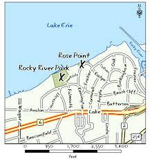 Map Of Ohio River by Ohio Ebird Hotspots Rocky River Park