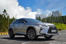 lexus rx 2016 f sport test drive review lexus rx 200t f sport lowyat net cars