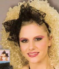 80s hair styles with scarves lace dress long 80s hair 80s pinterest 80s hair 80s