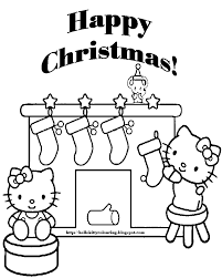 100 ideas hello kitty christmas coloring pages on emergingartspdx com