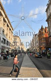 Christmas Decorations Oxford Street - before halloween christmas decorations are put up on oxford street