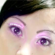fake halloween eyelashes gallery eye makeup ideas