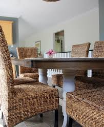 refinish a dining table diy style