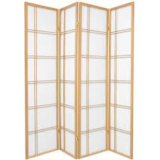 4 panel room divider 6 ft printed 3 panel room divider can japan the home depot