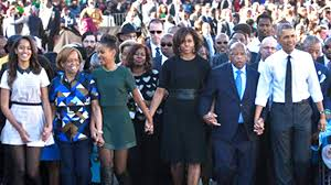 the obamas march in selma youtube