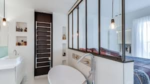 salle de bains dans chambre suite parentale chambre avec salle de bains plan dressing