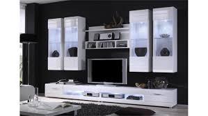 Wohnzimmerschrank Ohne Tv Carero 7 Anbauwand Wohnzimmer Weiß Hochglanz