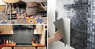 adh if mural cuisine pic photo carrelage adhésif mural salle de bain pic de carrelage