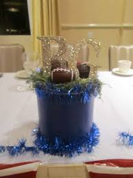 21 best sp centerpieces images on pinterest football banquet