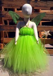 Tinkerbell Inspired Tutu Dress Costume 40 00 Via Etsy
