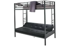 Bunk Bed With Sofa And Desk Metal Bunk Bed With Futon Home Design Ideas