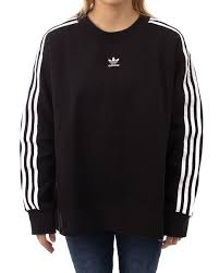 adidas sweater adidas crew sweater adicolor schwarz sweatshirts inflammable com