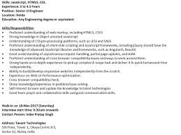 Send Your Resume At Tavant Technologies Referral Opening For Ui