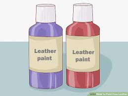 how to paint faux leather 14 steps with pictures wikihow