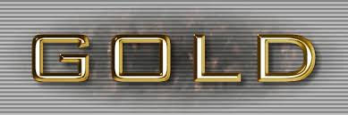 text effects 2 real gold