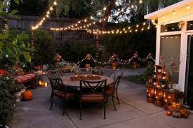 patio home decor cozy folk art style fall decorations for home and garden