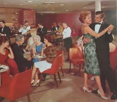 1950s cocktail party 1950 u0027s cruise ship lounge vintage life