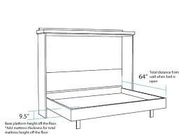 Murphy Bed With Desk Plans Best 25 Murphy Bed Plans Ideas On Pinterest Diy Murphy Bed