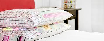 cucire un cuscino come cucire una federa per cuscino con chiusura a busta