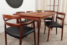 five teak dining room chairs midmod decor