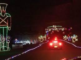 louisville mega cavern christmas lights louisville mega cavern s lights under louisville picture of