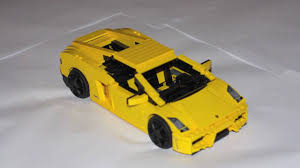 lamborghini lego built from scratch lego lambo youtube