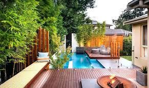 Backyard House Ideas Townhouse Backyard Landscaping