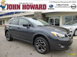 grey subaru crosstrek 2013 dark gray metallic subaru xv crosstrek 2 0 limited 84404344