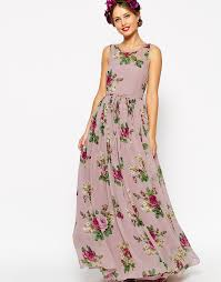 maxi dresses uk asos wedding lilac floral maxi dress uk 10 eu 38 us 6