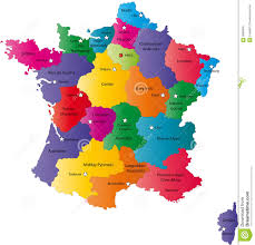 Alsace France Map by Map Of France Royalty Free Stock Image Image 6085946