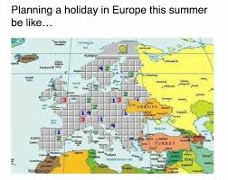 Map A Trip Planning A Trip To Europe