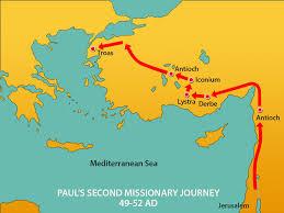 paul u0027s 2nd journey macedonian vision mission bible class