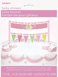 amazon com pink elephant baby shower dessert plates 8ct