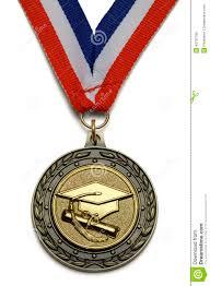 graduation medallion graduation medal stock photo image 43787785