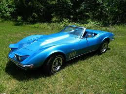 1969 convertible corvette 1969 chevrolet corvette stingray convertible 350 4spd factory
