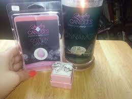 ring candles jewelry in candles