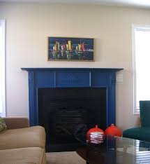 flossy painted fireplace color decoration styles and artworks