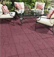 Backyard Tiles Ideas Outdoor Rubber Pavers Easy Patio Ideas Of Rubber Patio Tiles