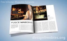 free exclusive indesign magazine template v 2 designfreebies