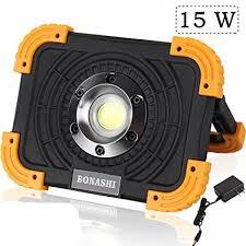 cat 324122 rechargeable led work light bonashi 15w portable led work light aluminum body cordless