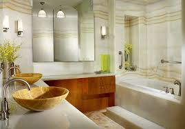 beautiful bathroom decorating ideas beautiful interior of wooden cabinet also ceramic sink again