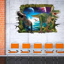Dinosaur Home Decor by Dinosaur Sticker Wall Art
