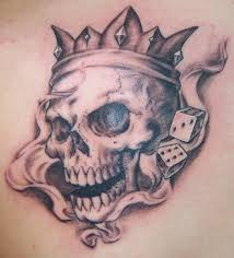 locating artwork of skulls tattoos