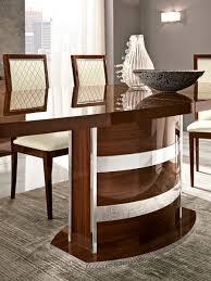 roma dining walnut italy modern formal dining sets dining room