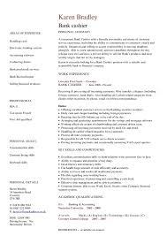 skill resume bank teller resume samples bank teller
