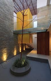 Interior Courtyard Box Like Seashore Home Near Lima Peru By Martin Dulanto