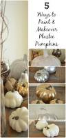 ways to paint and makeover plastic pumpkins fall home decor ways to paint and makeover plastic pumpkins fall home decor