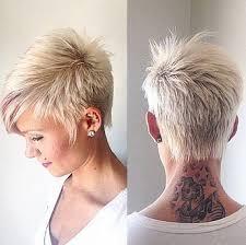 ordinary very short hairdo funky highlights short grey hair short funky hairstyles for grey